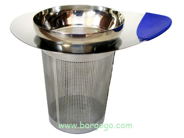 [T- 5]  Stainless Steel Tea Strainer