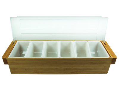 【BF-9 】Wood Condiment holder