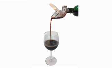 Water Wheel Wine Aerator with Energy Stone